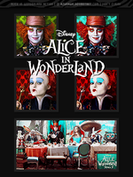 Alice in Wonderland action by azuRAWR