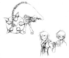 Soul Eater-afied by doodle-dee