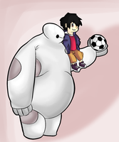 Big Hero 6 by thegamingdrawer