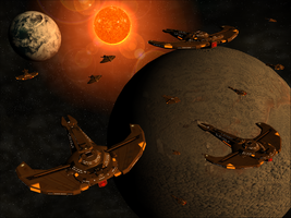 Over Cardassia IV by Dan1025