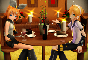 .: Dinner For Two :. by segawa2580