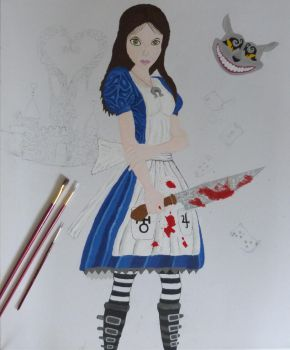 Alice Mc Gee WIP 1 by Fivelinger