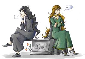 The Silmarillion - Melkor and Varda by SirAristocrat