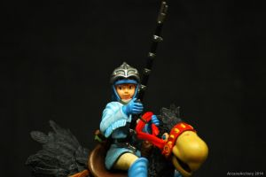 Nausicaa riding Kai - close up by ArcaneArchery