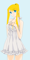 Winry. by heophtia