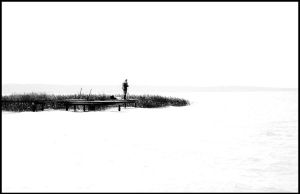 Fishing in Balaton Lake by bedri-meha