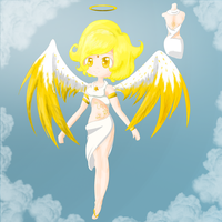 Angel Egg Adopt reveal by ShyMoonAdopts