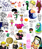 EarthBound Doodle Dump 8 by Mystic-Fire