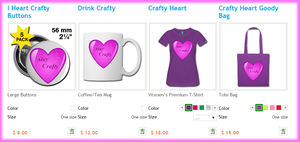 Crafty Hearts Collection by TTSnim