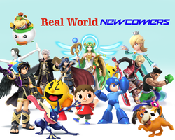 Real World Newcomers Title Card by rabbidlover01