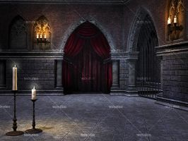 Gothic Chamber 2 by Trisste-stocks