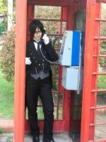 Red Telephone Box by Gala-maia