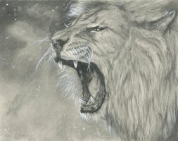 Finished Roaring Lion by ventura4