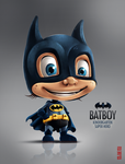 BATBOY - kindergarten super hero :) by Byzwa-Dher