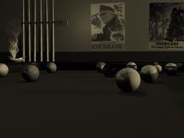 Pool Hall by batman288