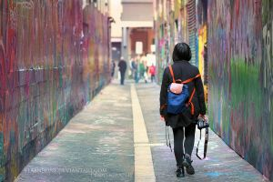 Laneways by FlabnBone
