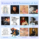 Summary of Art .:2013:. by Kiruel