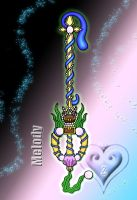 Keyblade - Melody - by WeapondesignerDawe