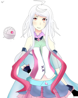 Maika draw by me by nyanhatsune