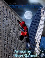 Gameinformer Cover - The Amazing Spider Issue - by Steamland