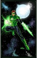 Green Lantern- Hal Jordan Colors by SaviorsSon