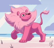Lion of Steven Universe by Goldy--Gry