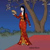 Geisha by WhisperingWindxx