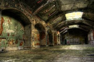 Asylum Main Hall II by tonemapped