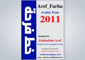 Aref Farha Font / For Sale !! by zakdesign