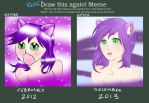 Draw This Again! 2012 vs 2013 by NoizRnel