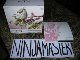 Console bundle Ps3 FF XIII by ninjamaster76