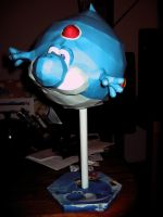Blimp Yoshi With Stand by Laugh-Till-You-Bleed