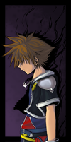 KH2 - Sinking into Darkness by Nekoshoujo