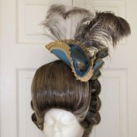 18th Century Wig + Hat 1 by AlAlNe