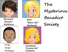The Mysterious Benedict Society! by Axe-Chop