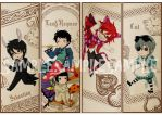 Ciel In Wonderland bookmarks by michiika