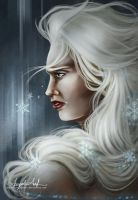 Frozen Tears, Frozen Heart by AngieParadiseeker