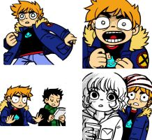 Scott Pilgrim VS. Coloring by Matt-Sage