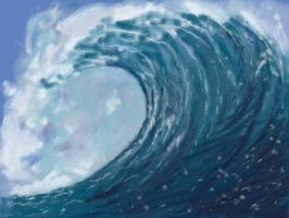 Art Academy Lesson 6:Wave by Nevertime