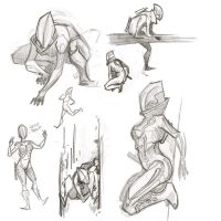 Tron OC Sketchs by oo0shed0oo