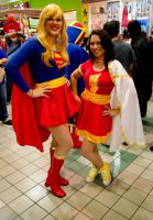 Mary Marvel and her best friend Supergirl by dama6690