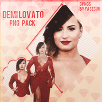 Demi Lovato Png Pack by WolfiannGirl