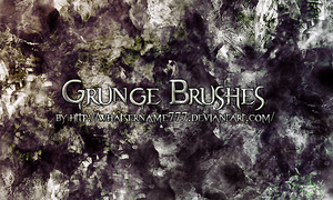 Grunge Brushes 2. by Whatsername777