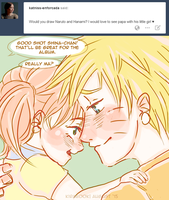 Naruto AU - Daddy's Girl by Kirabook