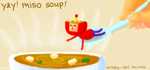 miso...soup KATAMARI DAMACY by frighteningdeceit