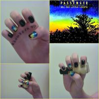 Passenger Concert NailArt by ThereIsNoMagicCure