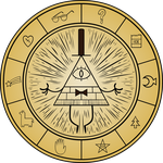 Gravity Falls - Bill Cipher Wheel by Doctor-G