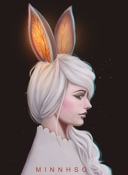 Rabbit by minnhsg
