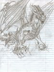 awesome dragon concept by jasons-art