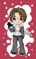 Chibi Squall by EelShadow